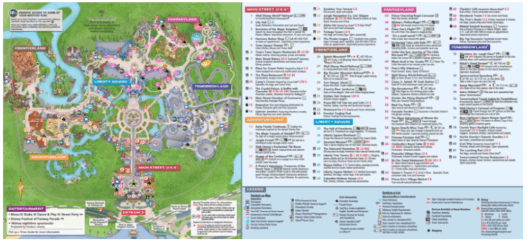 New Park Maps At Magic Kingdom In Walt Disney World Disneytips: Map Of Magic Kingdom Orlando At Slyspyder.com